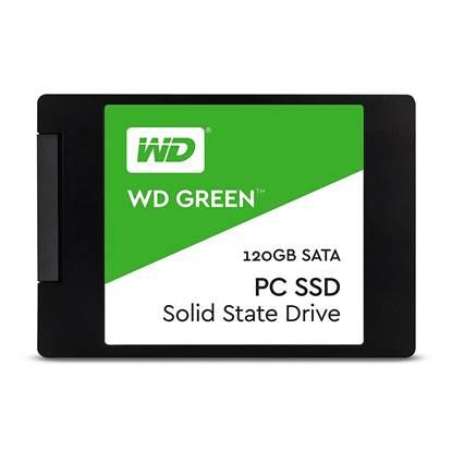 Western Digital Δίσκος SSD 2.5'' SATA III Green 120GB (WDS120G2G0A)