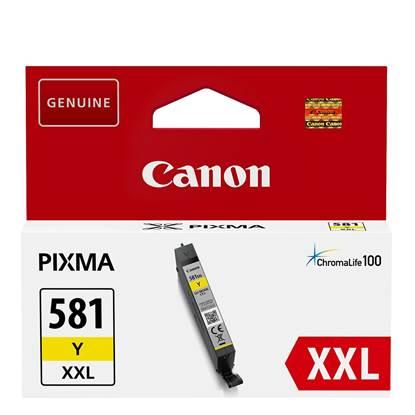 Canon Μελάνι Inkjet CLI-581YXXL Yellow (1997C001)