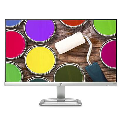 "HP 24ea 24"" LED IPS Monitor White with speakers"