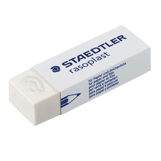 Γόμα STAEDTLER Rasoplast Λευκή (526B20)