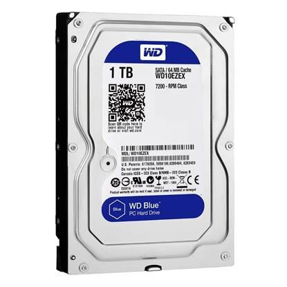 "Western Digital Εσωτερικός Σκληρός Δίσκος 1 TB (Blue 3.5"") (WD10EZRZ)"