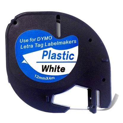Πλαστική Ταινία Ετικετογράφου DYMO 91201 12 mm x 4 m (Λευκή)