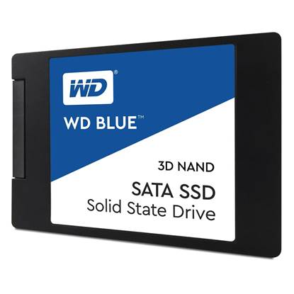 Western Digital Δίσκος SSD 2.5'' SATA III Blue 250GB 7mm 3D (WDS250G2B0A)