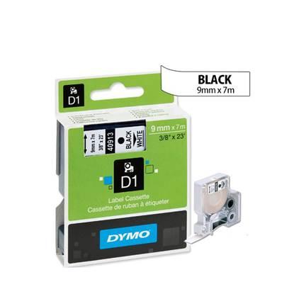 Ταινία Ετικετογράφου DYMO Standard 40913 9 mm x 7 m (Μαύρα Γράμματα σε Λευκό Φόντο)