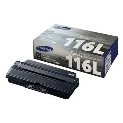 Samsung MLT-D116L High Yield Black Toner Cartridge (SU828A)