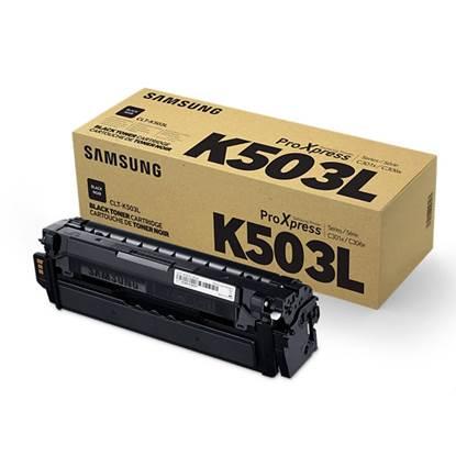 Samsung CLT-K503L H-Yield Blk Toner Cartridge (SU147A)