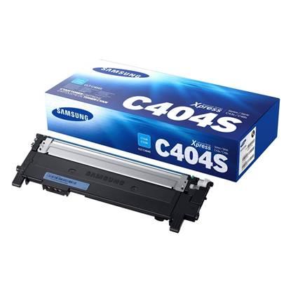 Samsung CLT-C404S Cyan Toner Cartridge (ST966A)