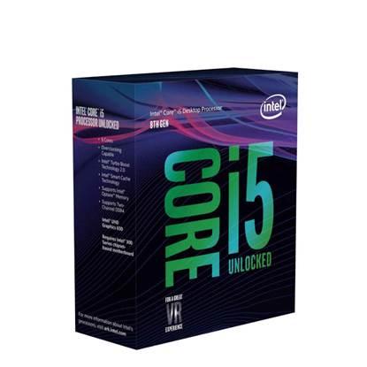 Επεξεργαστής Intel Core i5-8600K 9M Cache 3.60 GHz