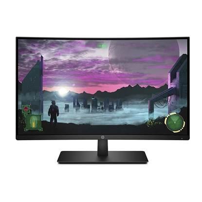 "HP 27"" Curved LED VA Monitor Black"