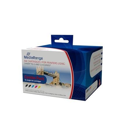 Inkjet MEDIARANGE Συμβατό για Εκτυπωτές Canon (Multipack) (PGI-5, CLI-8)