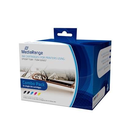 Inkjet MEDIARANGE Συμβατό για Εκτυπωτές Epson (Multipack) (T1281/T1284)