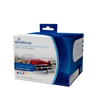Inkjet MEDIARANGE Συμβατό για Εκτυπωτές Epson (Multipack) (T2711/T2714)