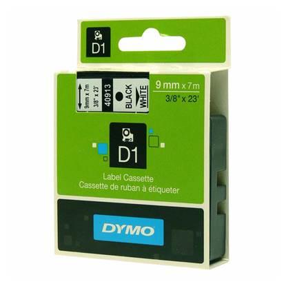 Ταινία Ετικετογράφου DYMO Standard 40910 9 mm x 7 m (Μαύρα Γράμματα σε Διάφανο Φόντο)