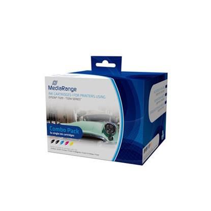 Inkjet MEDIARANGE Συμβατό για Εκτυπωτές Epson (Multipack) (T1291/T1294)
