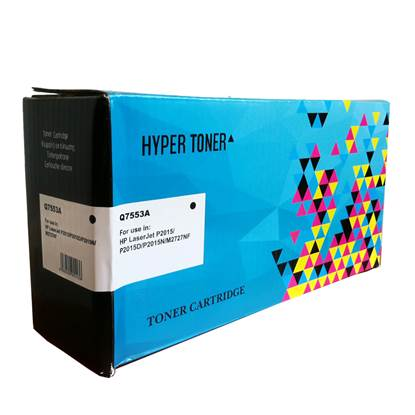 Toner HYPER Συμβατό για Εκτυπωτές HP (Black) (Q7553A)