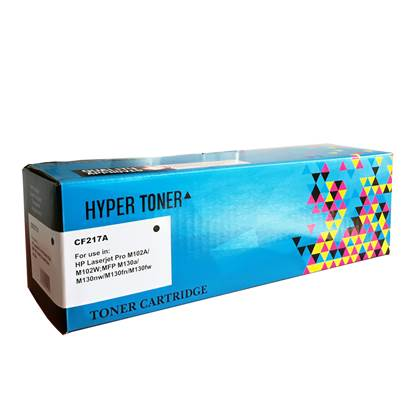 Toner HYPER Συμβατό για Εκτυπωτές HP (Black) (CF217A)