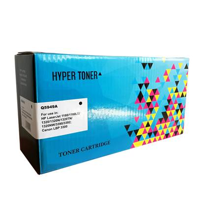 Toner HYPER Συμβατό για Εκτυπωτές HP (Black) (Q5949A)