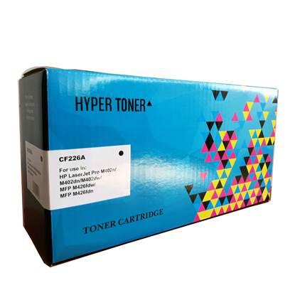 Toner HYPER Συμβατό για Εκτυπωτές HP (Black) (CF226A)
