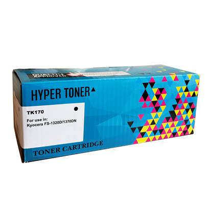 Toner HYPER Συμβατό για Εκτυπωτές Kyocera (Black) (TK170)