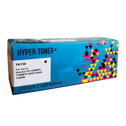 Toner HYPER Συμβατό για Εκτυπωτές Kyocera (Black) (TK130)