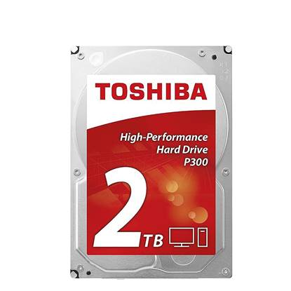 P300 - High-Performance Hard Drive 3.5'' 2TB (HDWD120UZSVA) (TOSHDWD120UZSVA)