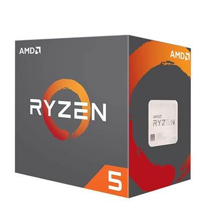 Εικόνα της Επεξεργαστής AMD RYZEN 5 2600Χ 6-Core 3.6 GHz AM4 95W (YD260XBCAFBOX) (AMDRYZ5-2600X)