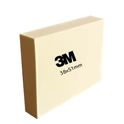 Αυτοκόλλητα Χαρτάκια 3M Post-it Note 653 38x51mm Κίτρινο (MMM653GE)