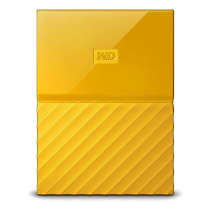 Western Digital My Passport 2TB External USB 3.0 Portable Hard Drive (Yellow)  (WDBS4B0020BYL-WESN)