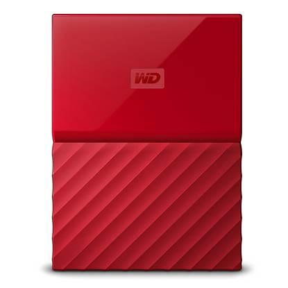 Western Digital My Passport 2TB External USB 3.0 Portable Hard Drive (Red)  (WDBS4B0020BRD)