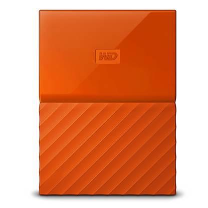 Western Digital My Passport 2TB External USB 3.0 Portable Hard Drive (Orange)  (WDBS4B0020BOR)