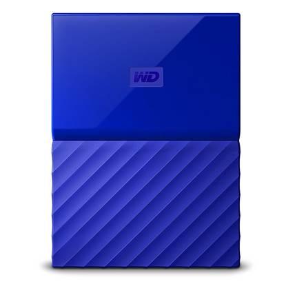 Western Digital My Passport 2TB External USB 3.0 Portable Hard Drive (Blue)  (WDBS4B0020BBL)