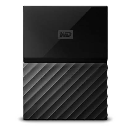 Western Digital My Passport 2TB External USB 3.0 Portable Hard Drive (Black) (WDBS4B0020BBK)