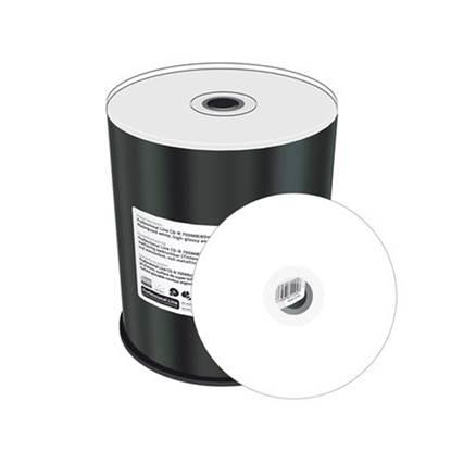 MediaRange CD R 80 700MB 52x Inkjet Fullsurf Print Proselect White
