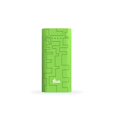 Fluo Energy 10400 block - PowerBank 10400mAh - Green (FLP104010-GN)