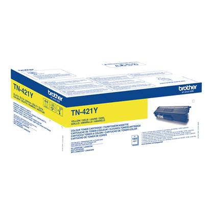 Toner Brother TN-421Y Yellow (TN-421Y) (BRO-TN-421Y)