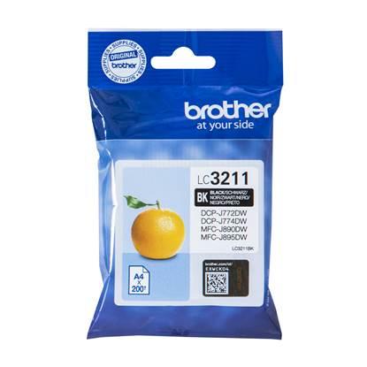 Brother Μελάνι Inkjet LC-3211BK Black (LC-3211BK) (BRO-LC-3211BK)
