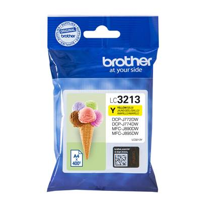 Brother Μελάνι Inkjet LC-3213Y Yellow (LC-3213Y) (BRO-LC-3213Y)