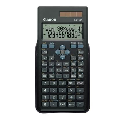 Αριθμομηχανή Επιστημονική16 Ψηφίων Canon F-715SG (5730B001) (CANF715SG)