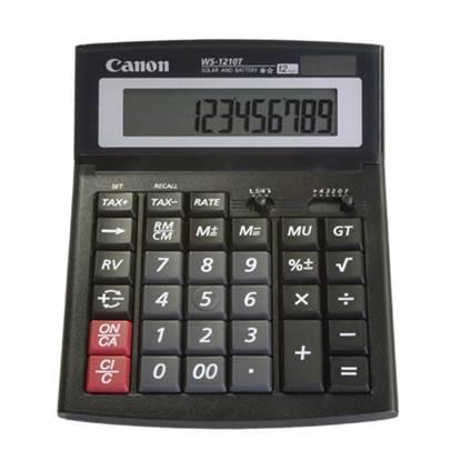 Αριθμομηχανή 12 Ψηφίων Canon WS-1210T (0694B002) (CANWS1210T)