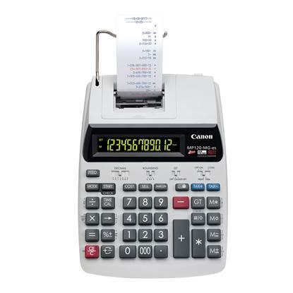Αριθμομηχανή Χαρτοταινίας12 Ψηφίων Canon MP120MGII (2289C001) (CANMP120MGII)
