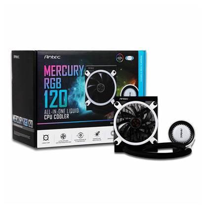 ANTEC Mercury - M120 Liquid CPU Cooler RGB (ANTM120RGB)