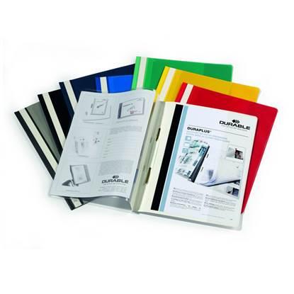 Ντοσιέ με Έλασμα PVC DURABLE 2570 (Μπλέ) (DRB2570BL)