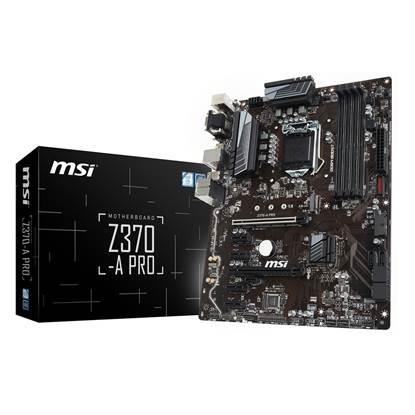 MSI Z370 A PRO Motherboard ATX LGA1151