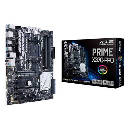 ASUS PRIME X370 PRO Motherboard ATX Socket AM4