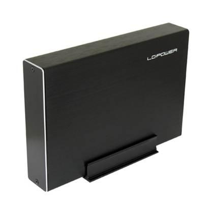 LC Power Θήκη Σκληρού Δίσκου 3.5 SATA USB 3.0 (Μαύρο) (LC35U3BECRUX)