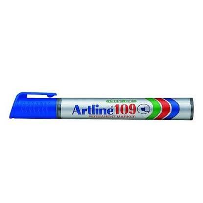 Μαρκαδόρος Ανεξίτηλος ARTLINE 109 Πλακέ Μύτη 2-5 mm (Μπλέ) (ART10925BL)