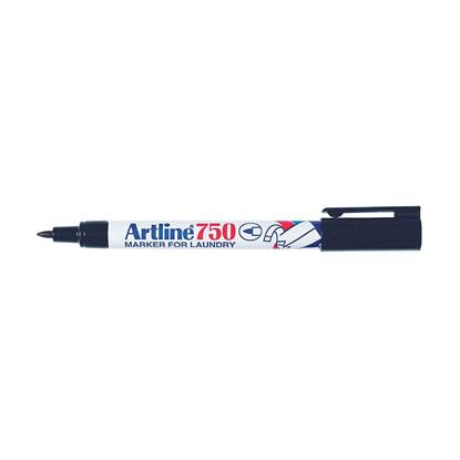 Μαρκαδόρος για Πλυντήριο ARTLINE  Μύτη 0.7 mm (Μαύρο) (ART75007BK)
