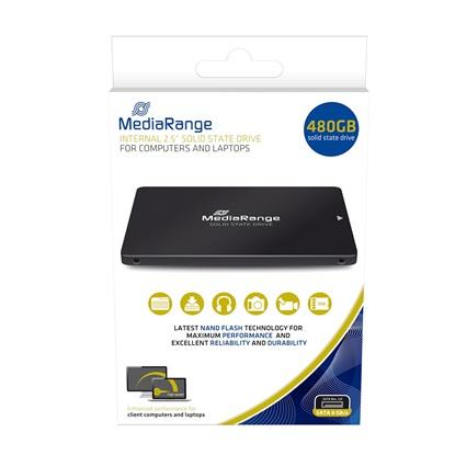 MediaRange Εσωτερικός Σκληρός Δίσκος SSD 480GB (MR1003)