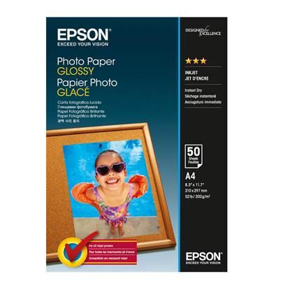Φωτογραφικό Χαρτί EPSON A4 Glossy 200 g/m²  50 Φύλλα (C13S042539) (EPSS042539)