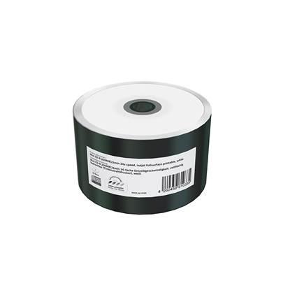 MediaRange Mini CD-R 22' 200MB 24x Inkjet Fullsurface Printable Shrink50 (MR257)